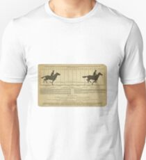 Eadweard Muybridge – 1830-1904 – Animal Locomotion Theory – Horse Poster - White T-Shirt