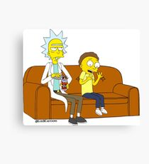 Yellow Rick Canvas Print