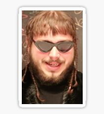 Post Malone Memeing  Sticker