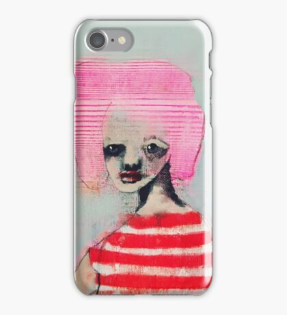 Marine stripes iPhone Case/Skin