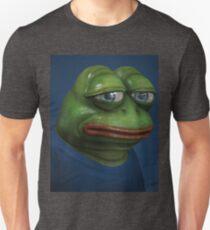 'Sad Pepe', 3d Pepe Painting Unisex T-Shirt