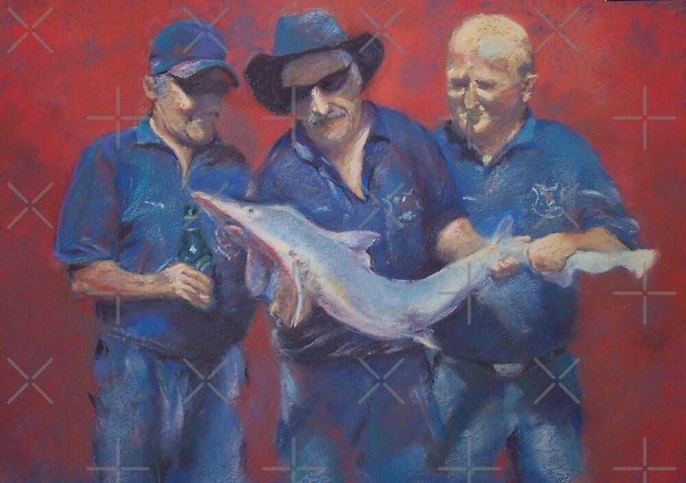 Fishing buddies. by Wendi Seymour