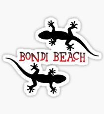 Bondi Beach Australia. Sticker