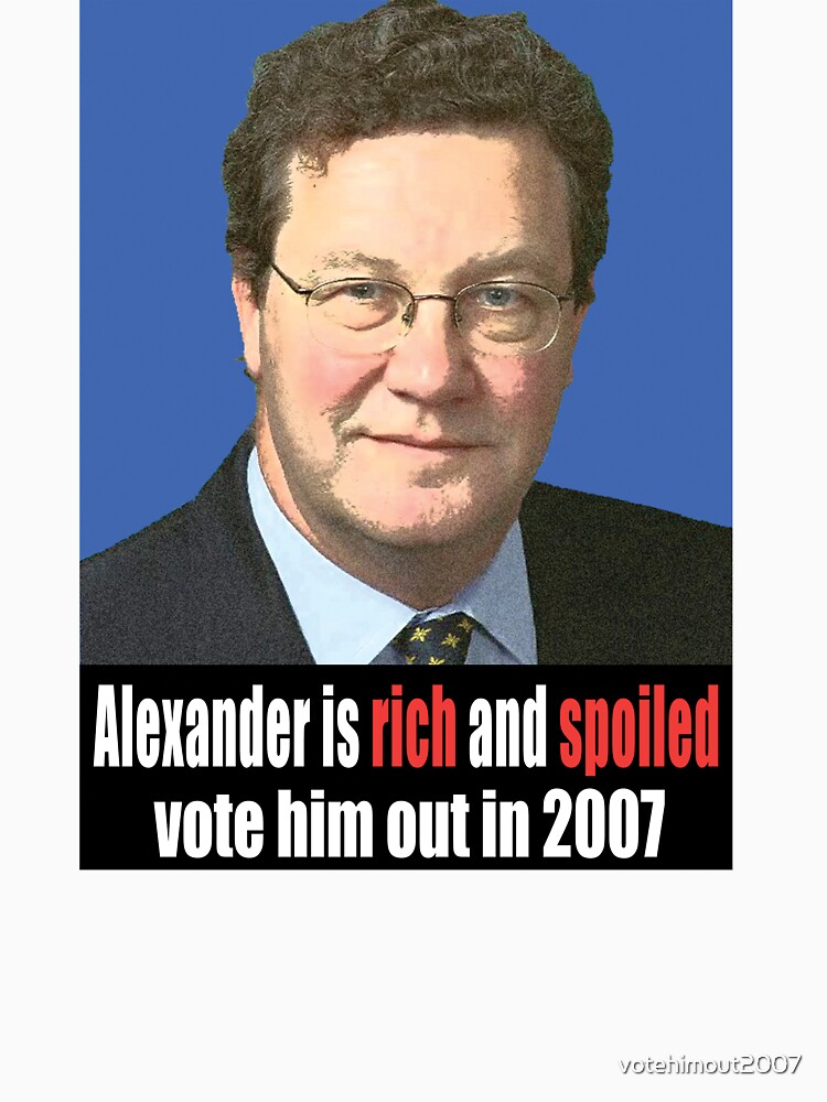 Alexander is rich and spoiled by votehimout2007
