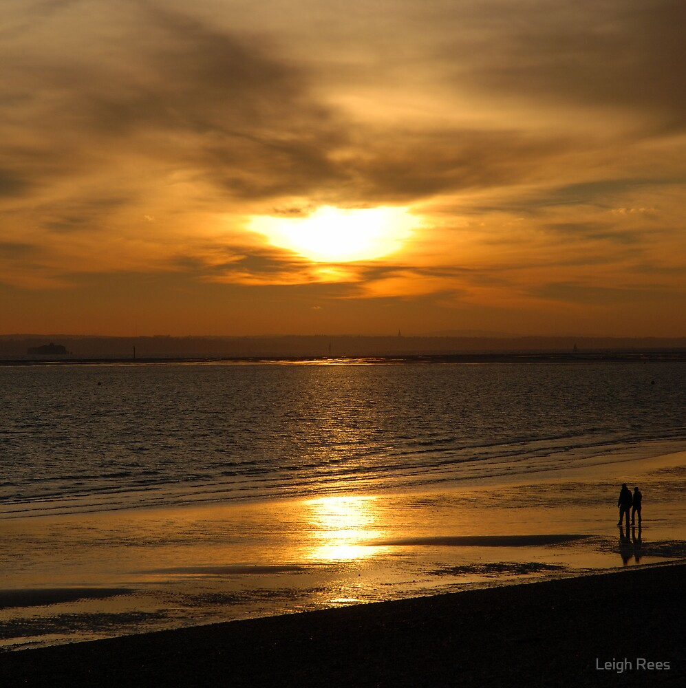 Sun sets on a perfect day - 02 by Leigh Rees