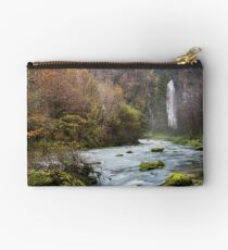 Autumn along Flumen river Studio Pouch
