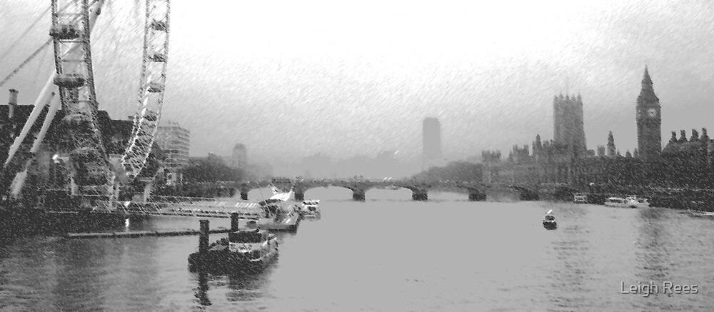 Thames past and present by Leigh Rees