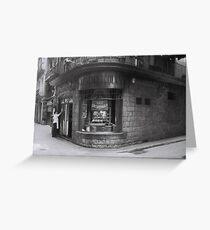 Los Caracoles, Barcelona Greeting Card