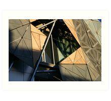 Federation Square - Melbourne - Victoria Art Print