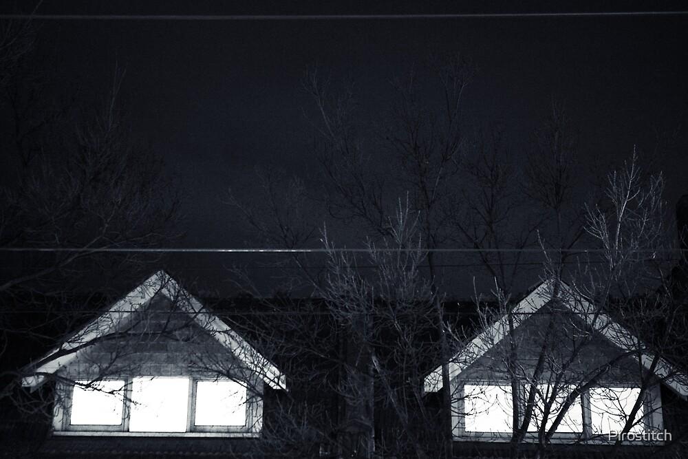 Eery window  by Pirostitch