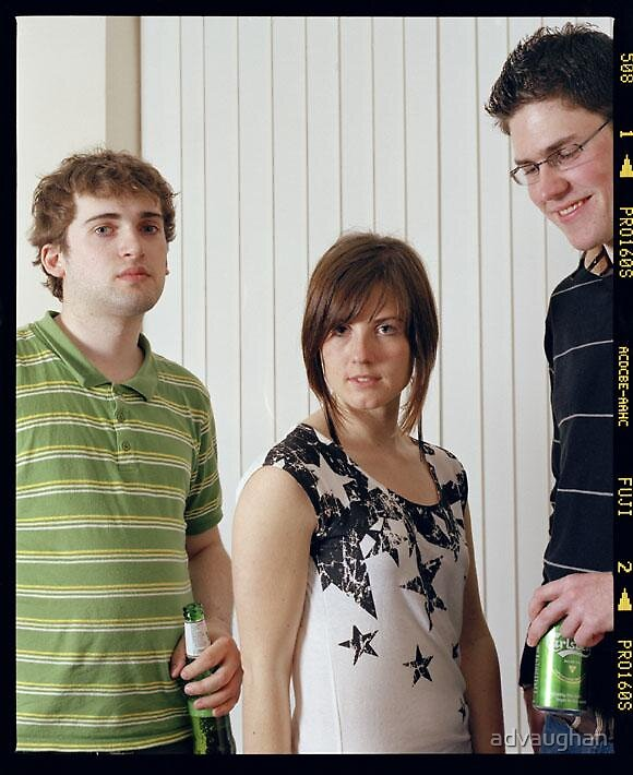Dave, Eluned and Chris, 2007 by advaughan