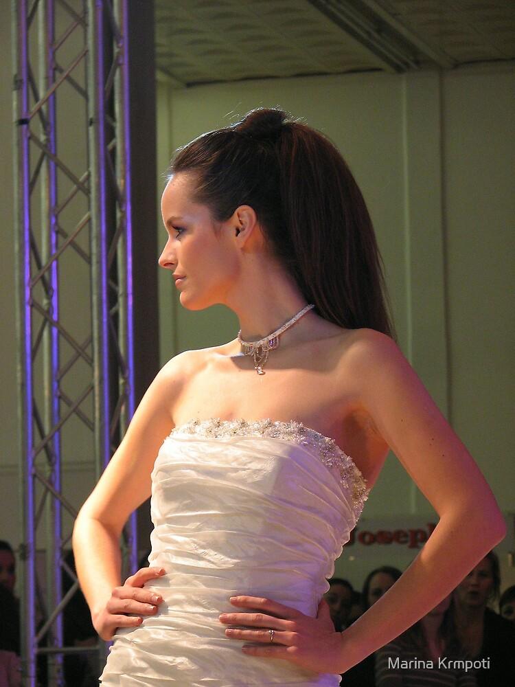 Wedding dress by Marina Krmpotić