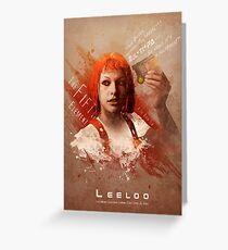 Leeloo Dallas, Multipass! Greeting Card