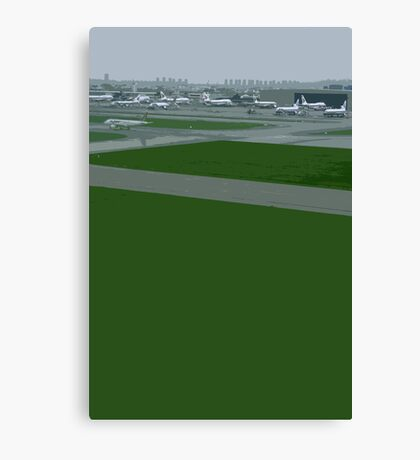 airport green Canvas Print