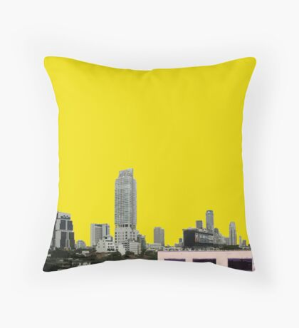 defunct Throw Pillow