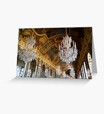 Hall of Mirrors, Versailles Greeting Card
