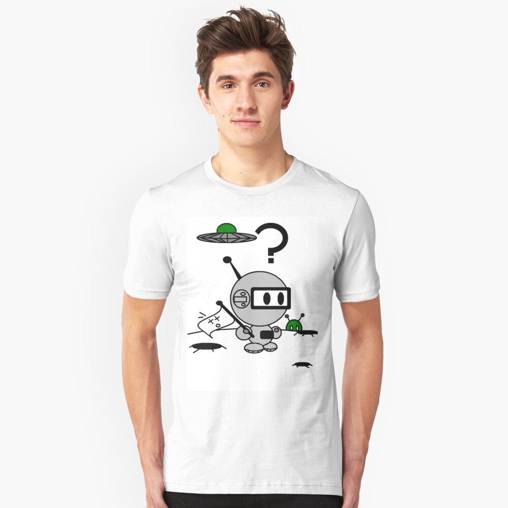 lost in space Unisex T-Shirt Front