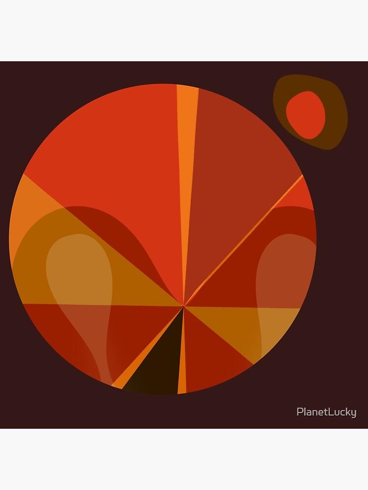 Orange Mod Pod Design by PlanetLucky