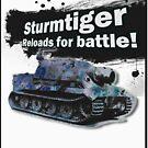 Sturmtiger: Reloads for Battle! by shadeprint
