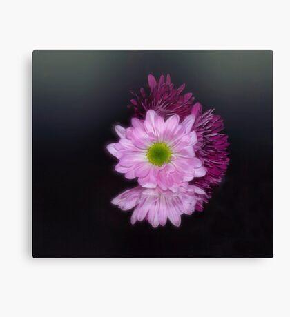 Floral Reflection Canvas Print