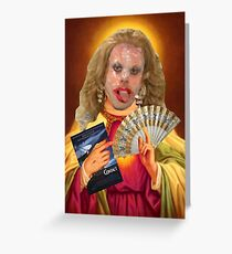 Drag Jesus Katya Greeting Card