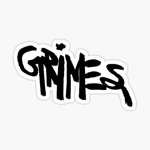 GRIMES Sticker