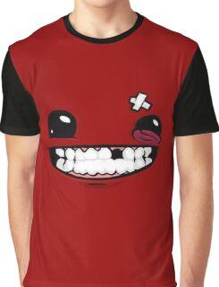 SuperMeatBoyLogo Graphic T-Shirt