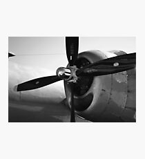 WWII Bomber Photographic Print