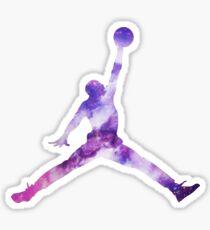 Jordan Galaxy Sticker