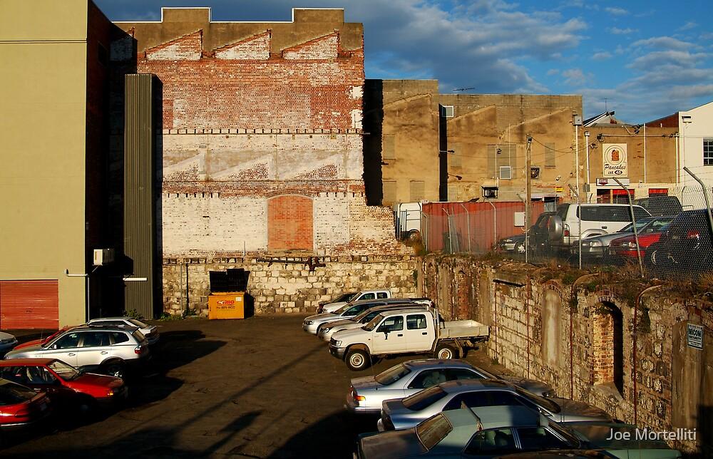 Back Alley Parking by Joe Mortelliti