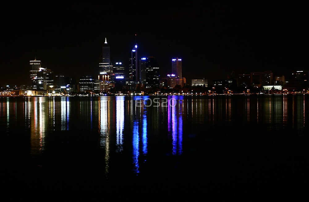 Perth The City Of Lights  by EOS20