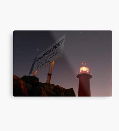 North Mole Lighthouse - Fremantle Western Australia  Metal Print