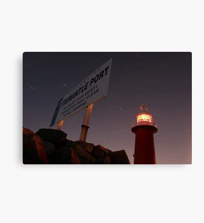 North Mole Lighthouse - Fremantle Western Australia  Canvas Print