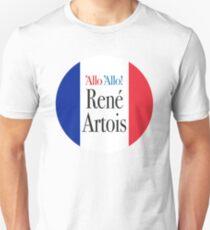 René Artois French flag Allo Allo T-Shirt