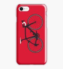 Bike Pop Art (Black & White) iPhone Case/Skin