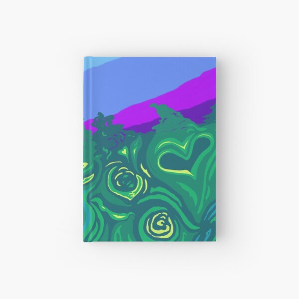 Language of Forest Hardcover Journal