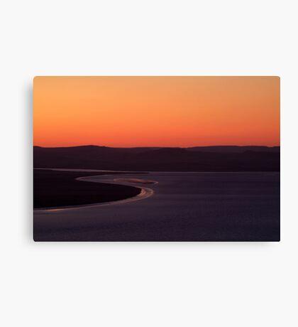Wyndham Sunset,Bastion Lookout,Western Australia Canvas Print