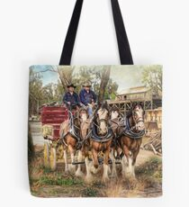Driving The Murray Tote Bag