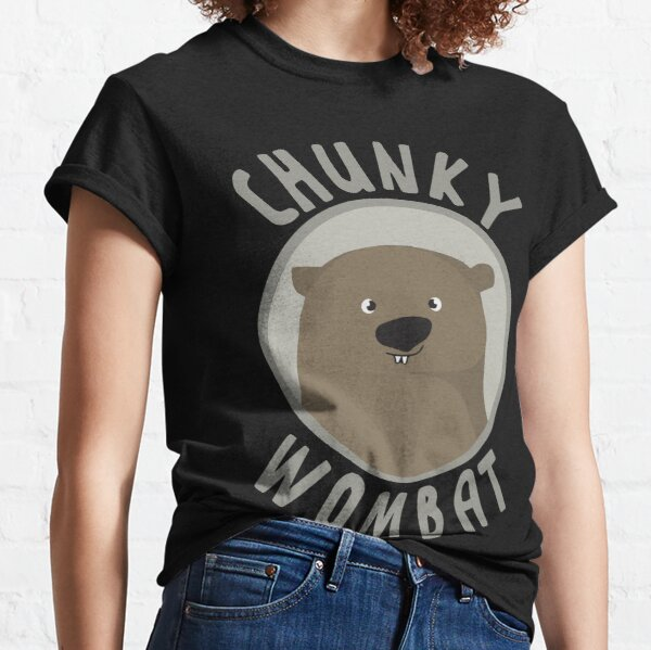 Chunky Wombat Merchandise Classic T-Shirt