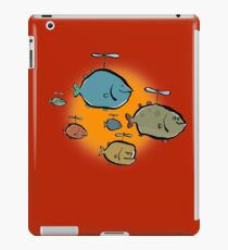 helicopter fishes are coming! iPad Case/Skin