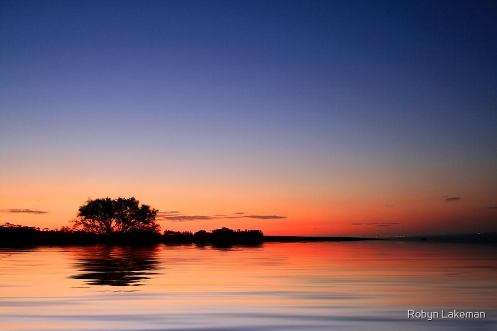 Sunset Port Arlington by Robyn Lakeman