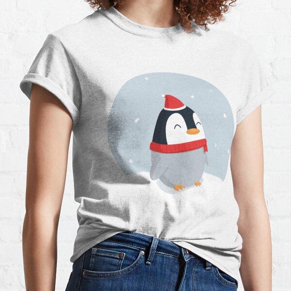 Christmas Penguin Classic T-Shirt