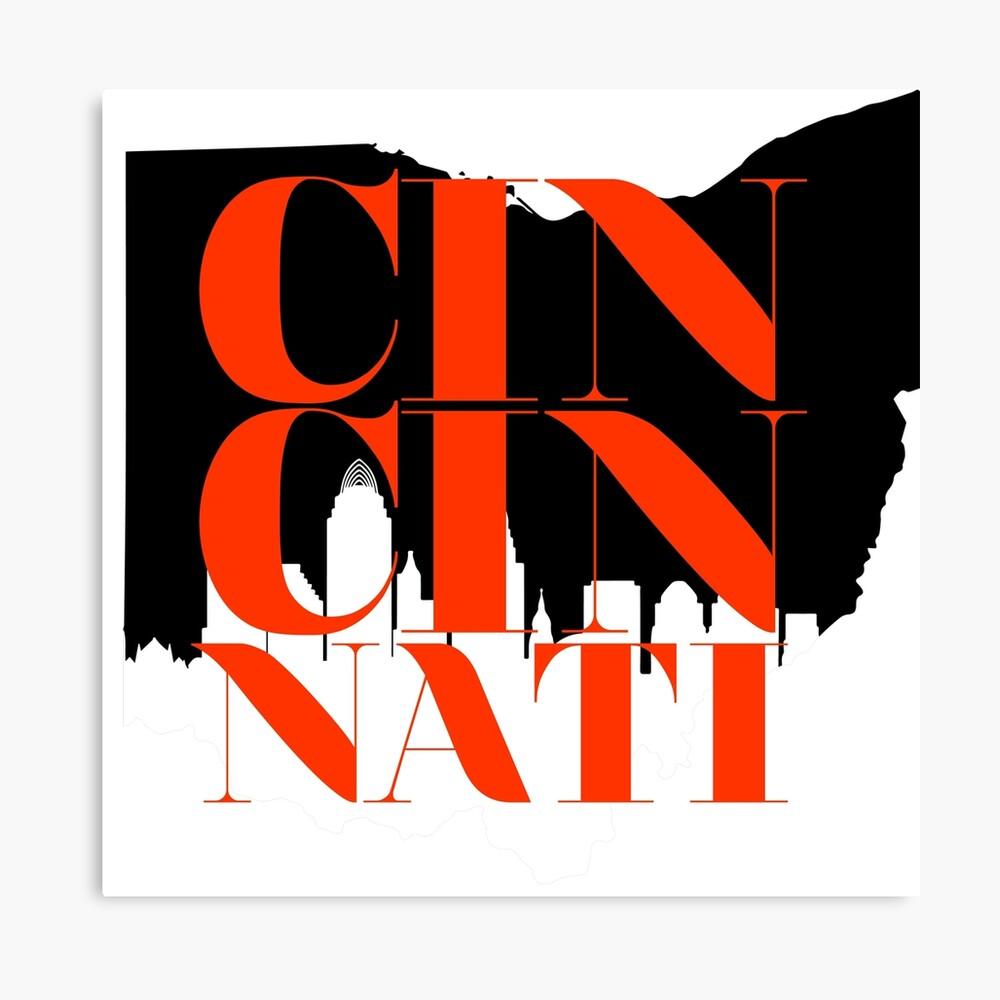 Cincinnati Leinwanddruck