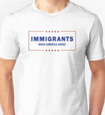 Immigrants Make America Great Unisex T-Shirt