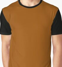 Brown Graphic T-Shirt