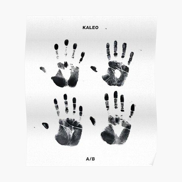 Kaleo tour 2017 finger Solehaleha SH two Poster
