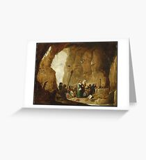 David Teniers The Younger - The Temptation Of St. Anthony Greeting Card