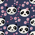 Panda love by Tessa  Rath