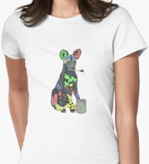 The Painted Dog Women's Fitted T-Shirt