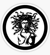 MEDUSA STATUE Sticker